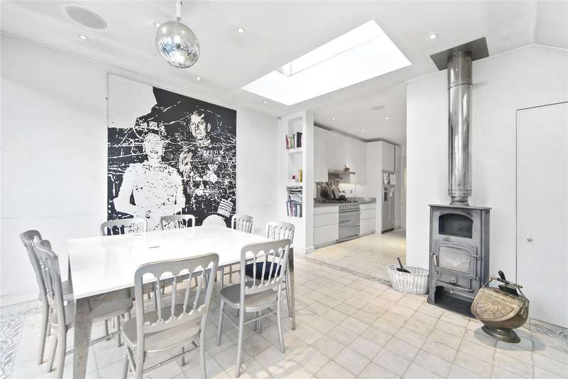 4 Bedrooms Terraced House for sale in Branksea Street, Munster Village, Fulham, London, SW6