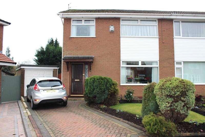 3 Bedrooms Semi Detached House for sale in Barnston Close, Astley Bridge