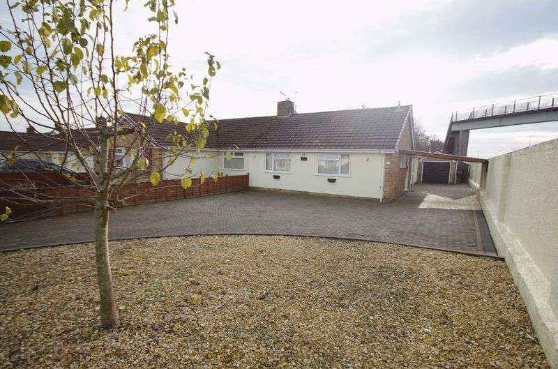 2 Bedrooms Semi Detached Bungalow for sale in Sandhurst Close, Stoke Lodge, Bristol