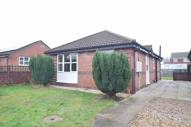 2 Bedrooms Detached Bungalow for sale in Meadow Court, Hibaldstow, Brigg