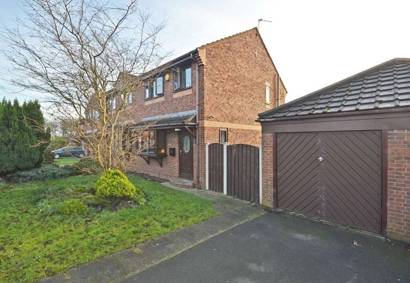 3 Bedrooms Semi Detached House for sale in Owlett Mead, Thorpe, Wakefield