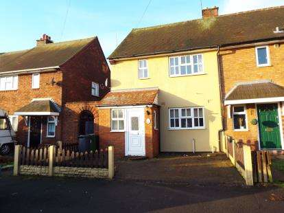 2 Bedrooms Terraced House for sale in Gurney Road, Beechdale, Walsall, West Midlands