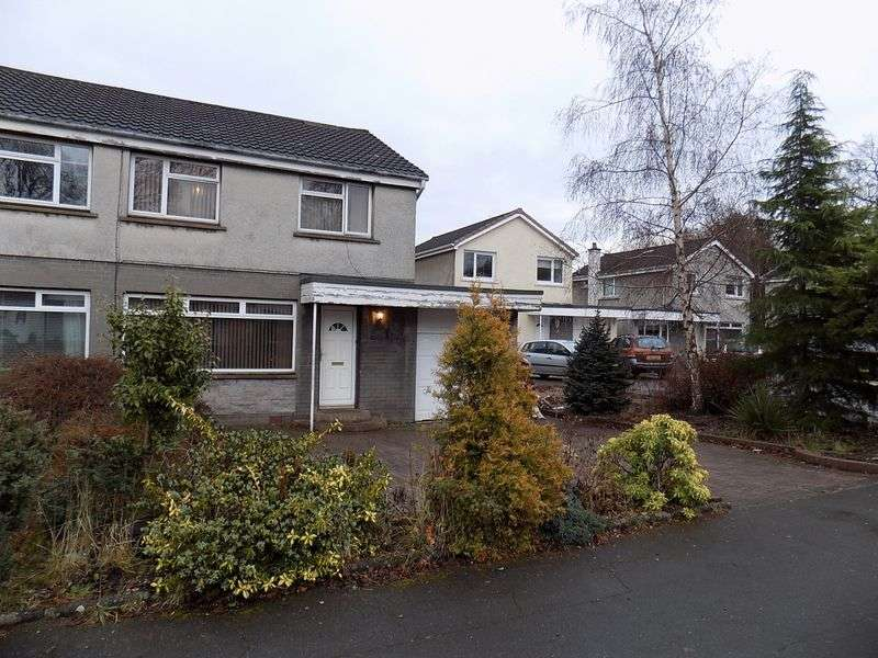 3 Bedrooms Semi Detached House for sale in Polmont Park, Falkirk