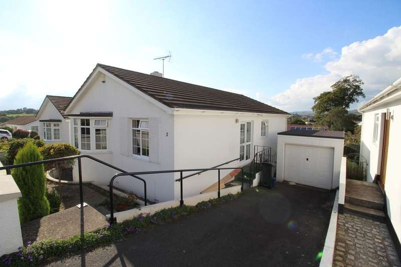 2 Bedrooms Detached Bungalow for sale in Marguerite Close, Newton Abbot, TQ12