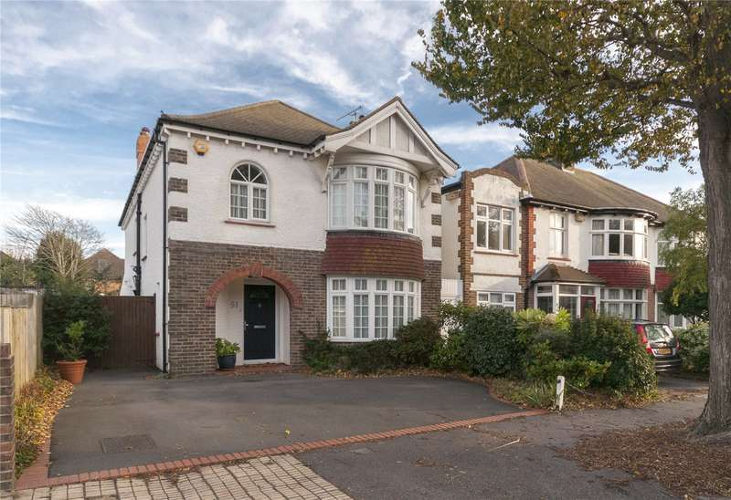 4 Bedrooms Detached House for sale in Berriedale Avenue, Hove, East Sussex, BN3