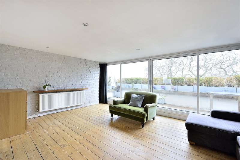 3 Bedrooms Flat for sale in Arundel Square, London, N7