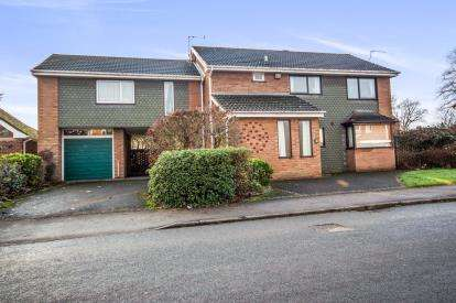 4 Bedrooms Detached House for sale in Ambleside Way, Nuneaton, Warwickshire, .