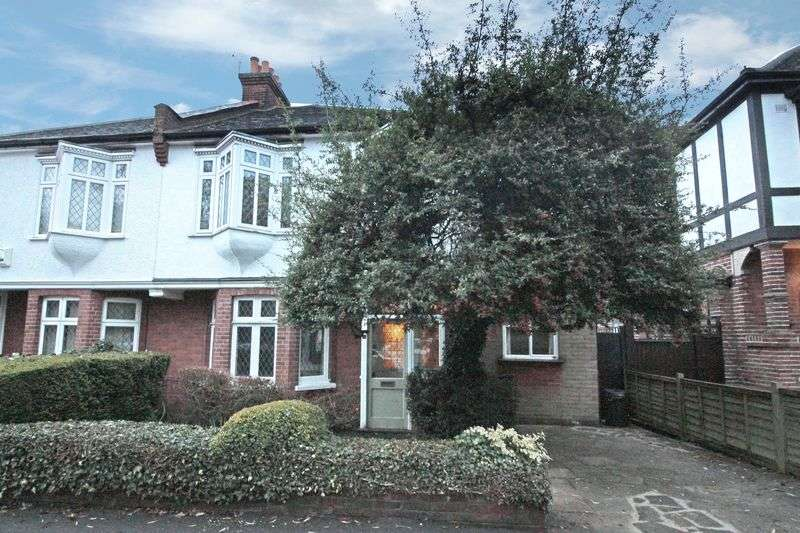 4 Bedrooms Semi Detached House for sale in Monkhams Lane, Woodford Green