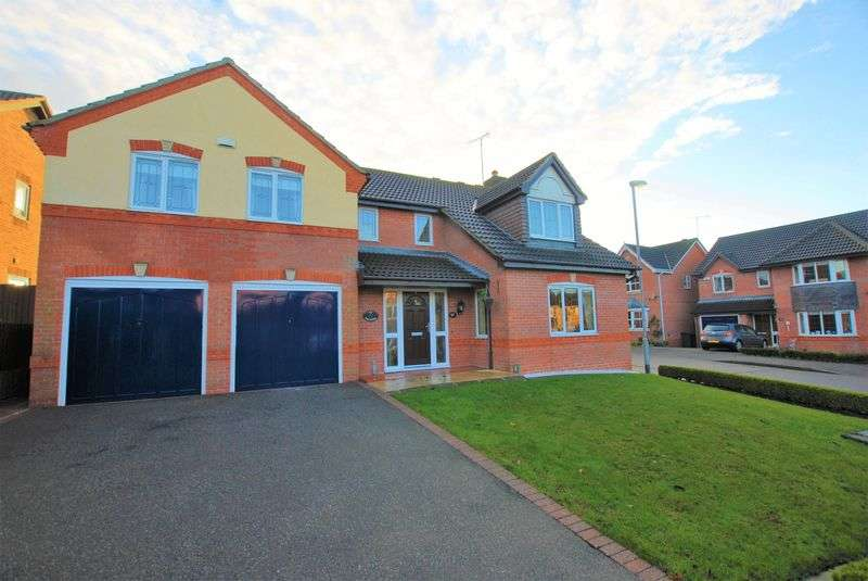 5 Bedrooms House for sale in Demontfort Way, Uttoxeter