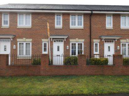 3 Bedrooms Terraced House for sale in Sanderling Way, Forest Town, Mansfield, Nottinghamshire