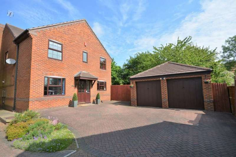 4 Bedrooms Detached House for sale in Sorrel Drive, Boughton Vale