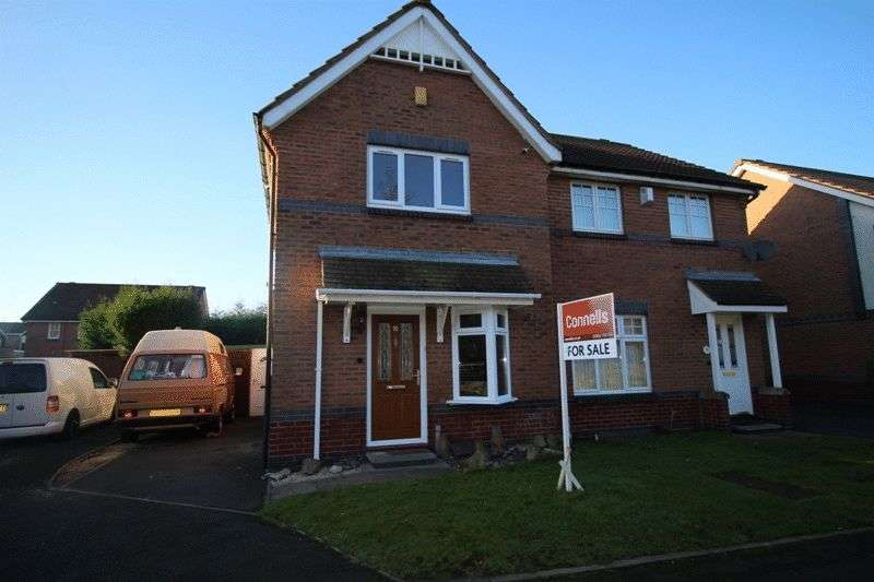 2 Bedrooms Semi Detached House for sale in Painters Croft, Bilston