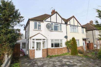 3 Bedrooms Semi Detached House for sale in Addington Road, West Wickham