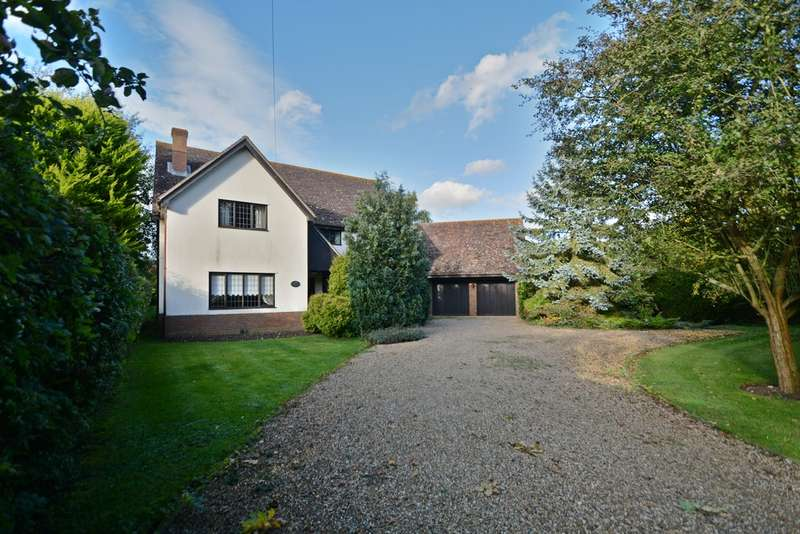 5 Bedrooms Detached House for sale in Church Road, Market Weston