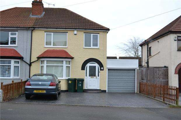 3 Bedrooms Semi Detached House for sale in Beech Tree Avenue, Tile Hill, Coventry, West Midlands