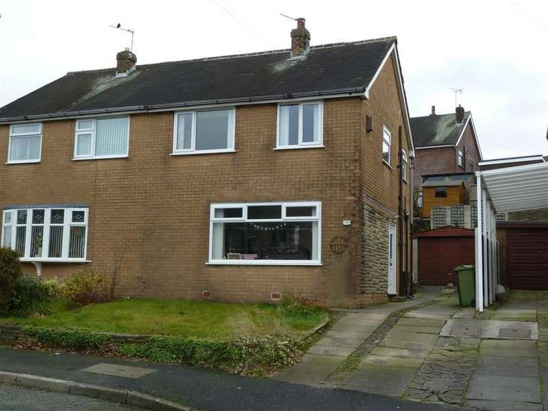 3 Bedrooms Property for sale in Ashfield Crescent, Springhead, SADDLEWORTH, OL4