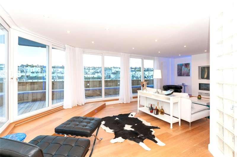3 Bedrooms Flat for sale in The Ocean Building, 102 Queens Road, Brighton, East Sussex, BN1