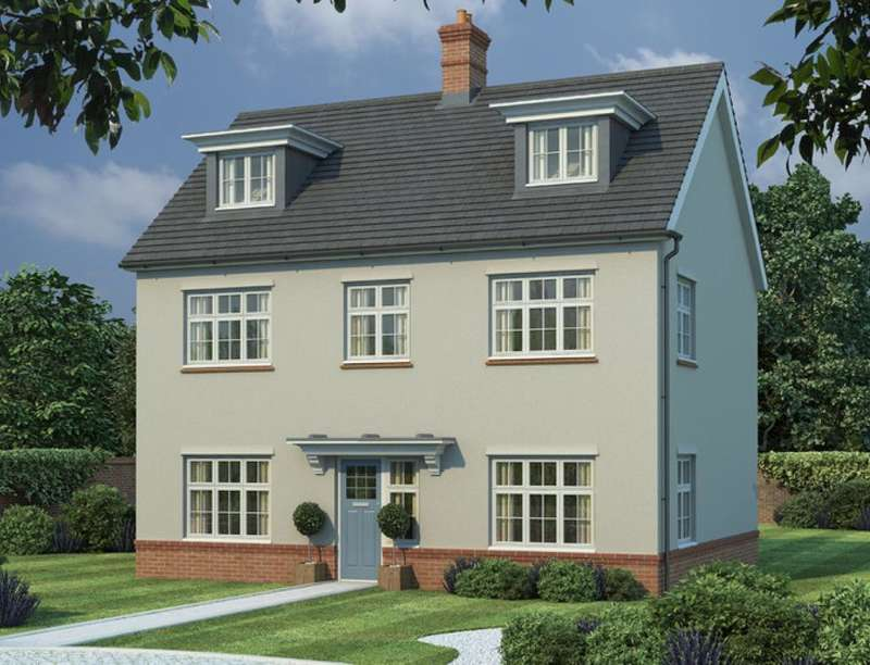 5 Bedrooms Detached House for sale in The Highwood Goudhurst Road, Marden, Tonbridge, TN12