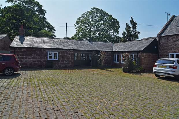 2 Bedrooms Semi Detached Bungalow for sale in Old Hall Farm, Old Hall Lane, Puddington, Neston, Cheshire