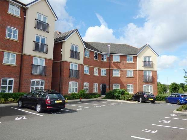 2 Bedrooms Flat for sale in Abbott Court, Buckshaw Village, Chorley, Lancashire