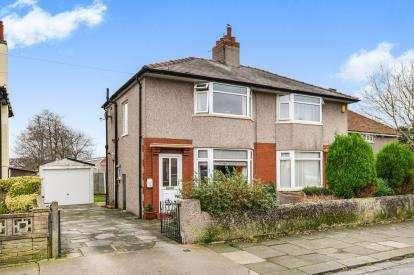 2 Bedrooms Semi Detached House for sale in Manor Grove, Heysham, Morecambe, Lancashire, LA3