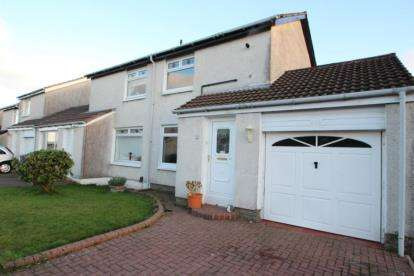 2 Bedrooms Semi Detached House for sale in Loganswell Place, Deaconsbank