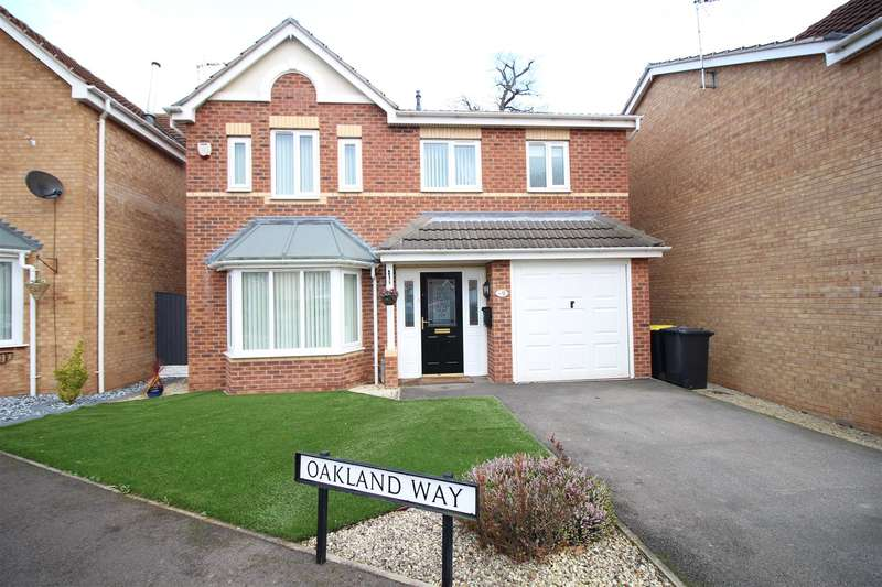 4 Bedrooms Detached House for sale in Oakland Way, Bilborough