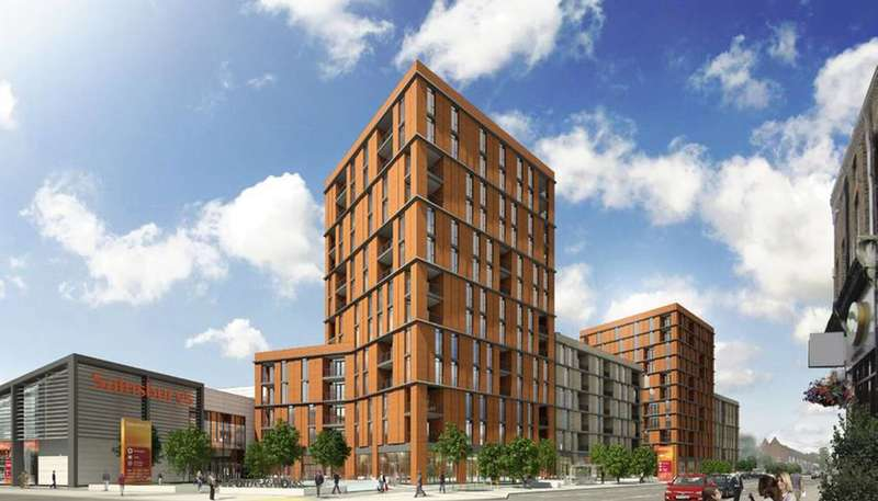 2 Bedrooms Flat for sale in Old Gas Works, Sutton, SM1