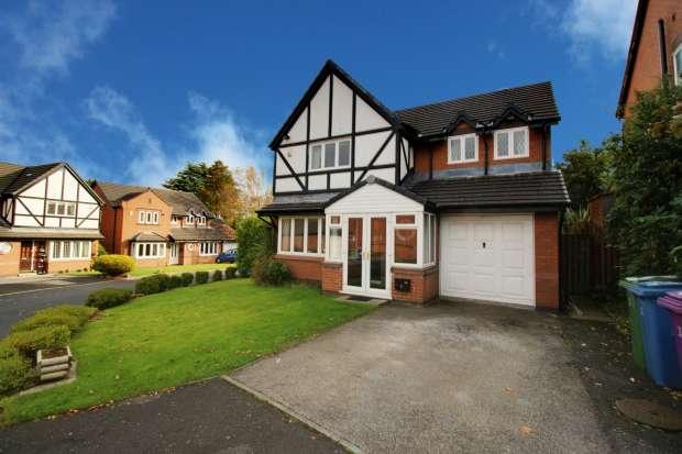 4 Bedrooms Detached House for sale in Meadow Oak Drive, Liverpool, Merseyside, L25 3SZ