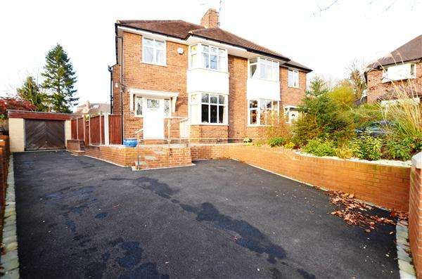 3 Bedrooms Semi Detached House for sale in Northesk Place, Westlands, Newcastle-under-Lyme
