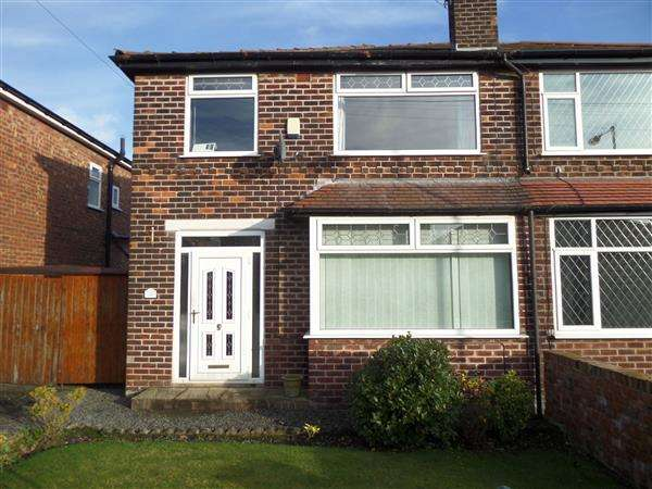3 Bedrooms Semi Detached House for sale in Parkleigh Drive, Manchester