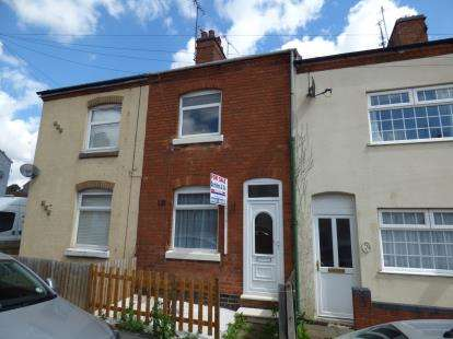 2 Bedrooms Terraced House for sale in Queens Road, Hinckley, Leicestershire