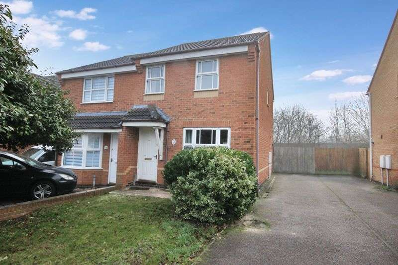 3 Bedrooms Terraced House for sale in Kirkstall Close, Abbeyfields, Bedford