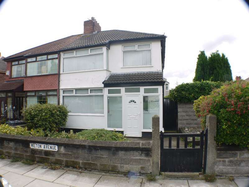 3 Bedrooms Semi Detached House for sale in Milton Avenue, Liverpool, L14 6TE