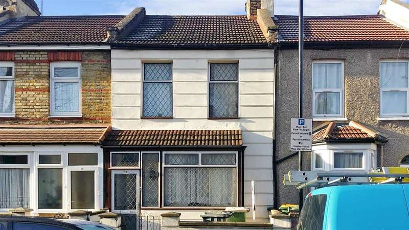 2 Bedrooms Terraced House for sale in Waterloo Road, East Ham, London
