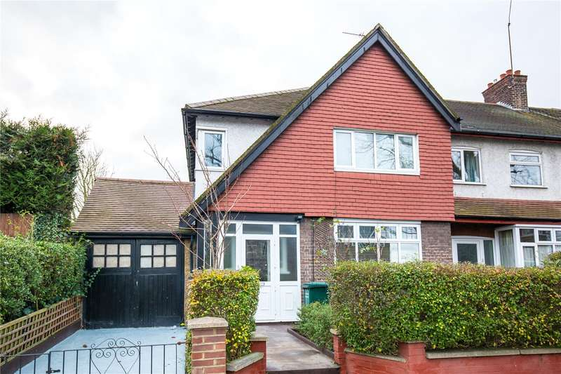 3 Bedrooms Semi Detached House for sale in High Road, East Finchley, London, N2