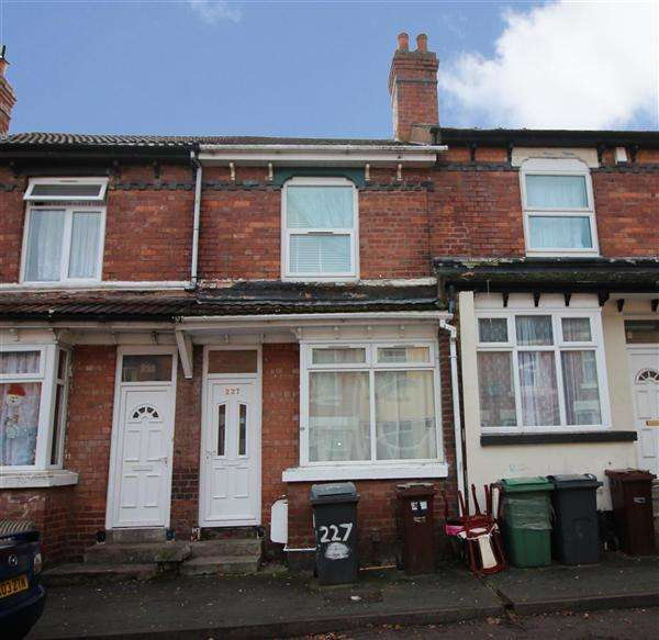 3 Bedrooms Terraced House for sale in Merridale Street West, Pennfields