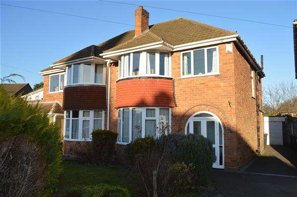 3 Bedrooms Semi Detached House for sale in Sheldon Grove, Sheldon, Birmingham