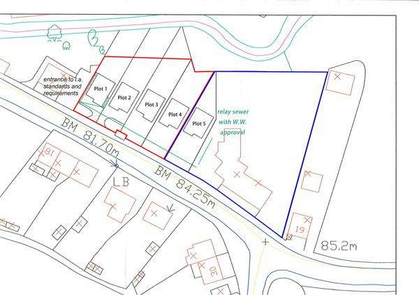 3 Bedrooms Plot Commercial for sale in Gwendraeth Road, Cwmmawr, TUMBLE, Llanelli
