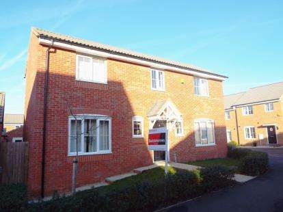 4 Bedrooms Detached House for sale in Kelburn, Orton Northgate, Peterborough, Cambs