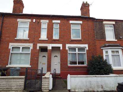 2 Bedrooms House for sale in Timbrell Avenue, Crewe, Cheshire