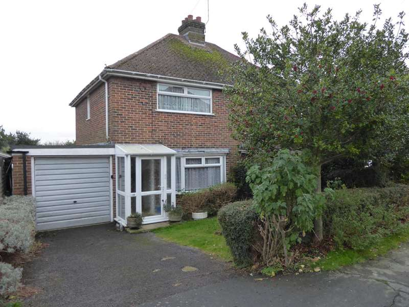 2 Bedrooms Semi Detached House for sale in Hamsey Crescent, Lewes