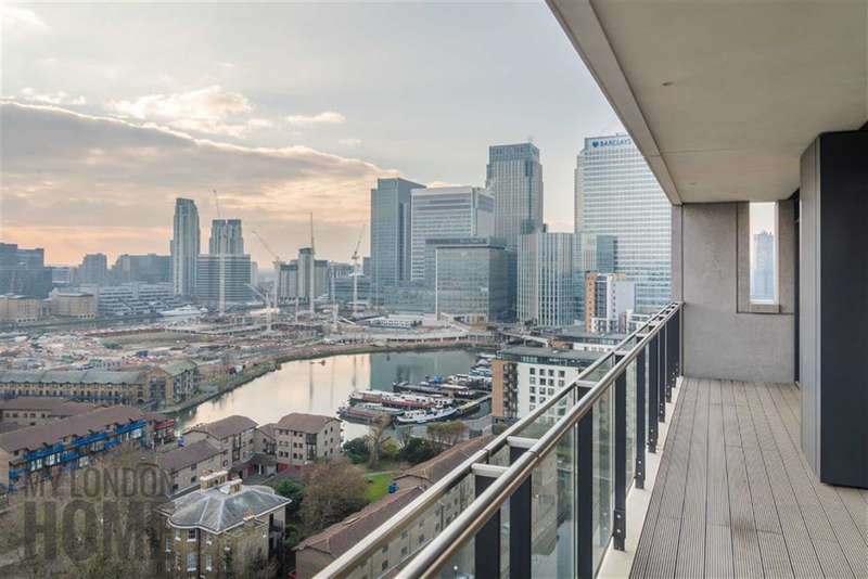 2 Bedrooms Property for sale in Horizons Tower, Canary Wharf, London, E14