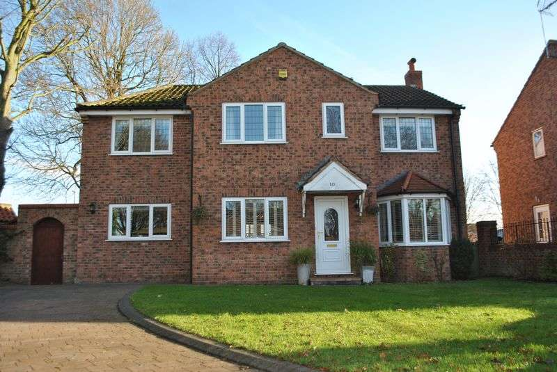 4 Bedrooms Detached House for sale in Grove Park, Barlby