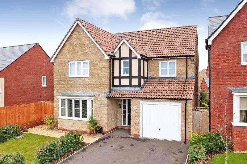 4 Bedrooms Detached House for sale in Cornflower Close, Wilstock Village, Bridgwater