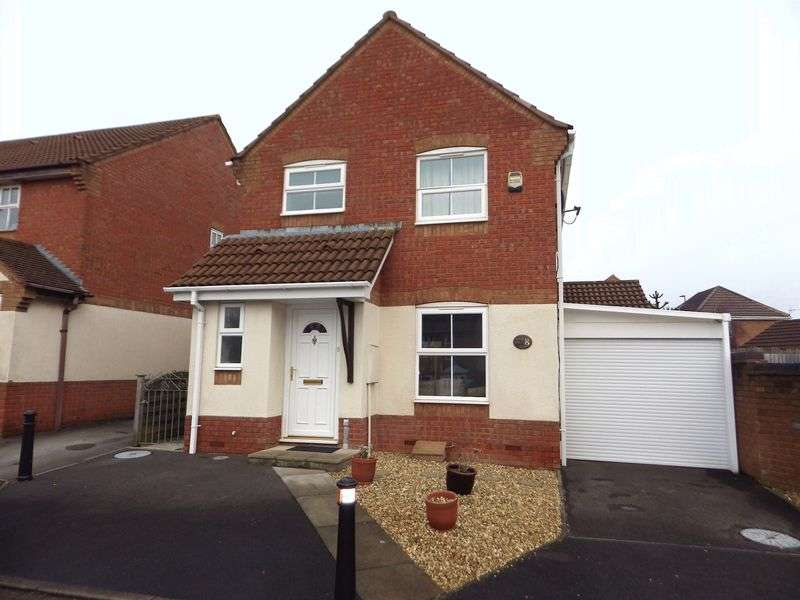 3 Bedrooms Detached House for sale in Garrett Drive, Bradley Stoke