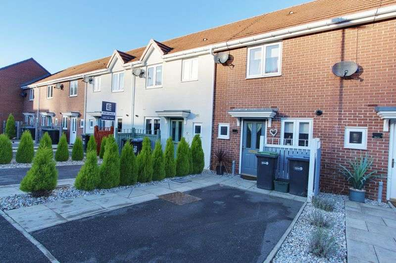 2 Bedrooms Terraced House for sale in Hilltop View, Langley Park