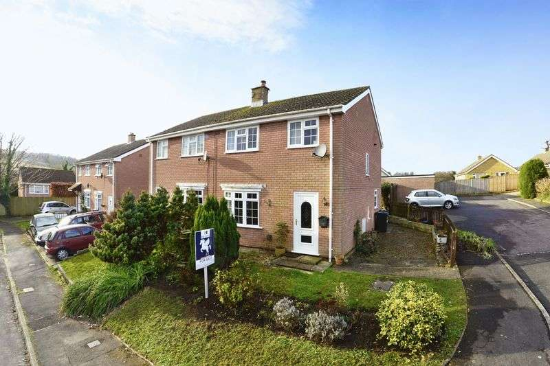 3 Bedrooms Semi Detached House for sale in Old Barn Road, Bere Regis, BH20.