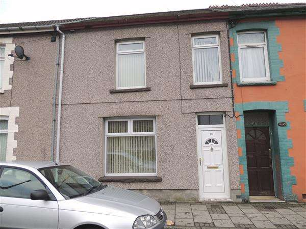 2 Bedrooms Terraced House for sale in Oakfield Tce, Llwynpia, Tonypandy