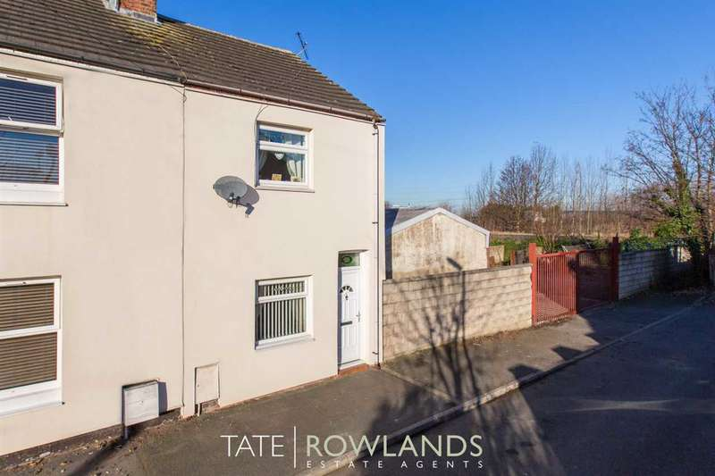 3 Bedrooms End Of Terrace House for sale in Maude Street, Connahs Quay